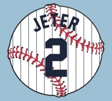 Derek Jeter Baseball Design Kids Clothes