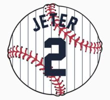 Derek Jeter Baseball Design by canossagraphics