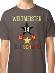 Weltmeister Deutschland Classic T-Shirt