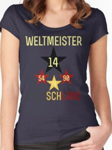 Weltmeister Deutschland Women's Fitted Scoop T-Shirt