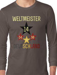 Weltmeister Deutschland Long Sleeve T-Shirt