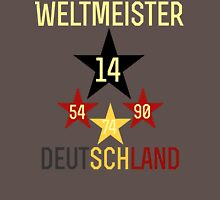Weltmeister Deutschland Unisex T-Shirt