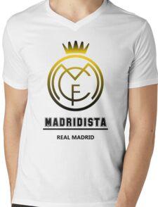 Real Madrid - Madridista Mens V-Neck T-Shirt
