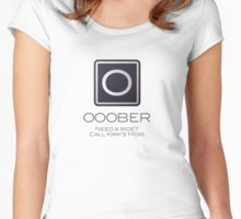 Ooober Women's Fitted Scoop T-Shirt