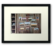 Bangate - Always Delivers Framed Print