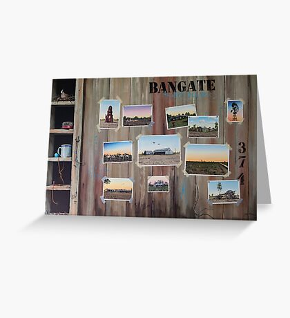 Bangate - Always Delivers Greeting Card