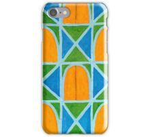 Lighted Arched Windows Pattern  iPhone Case/Skin