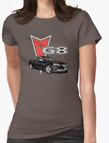 G8 Black Womens Fitted T-Shirt