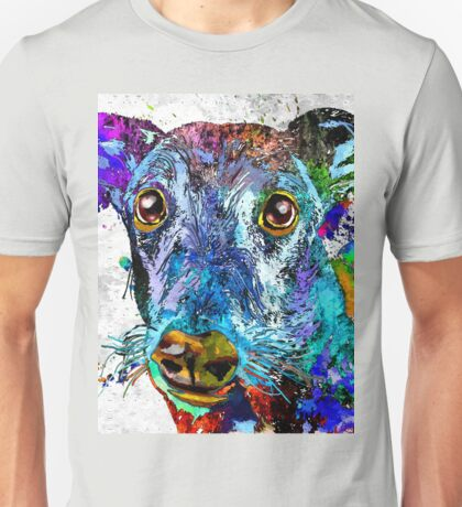 Greyhound Grunge Unisex T-Shirt