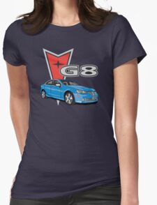 G8 Blue Womens Fitted T-Shirt