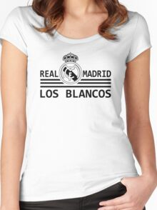 Real Madrid - Madridista Women's Fitted Scoop T-Shirt