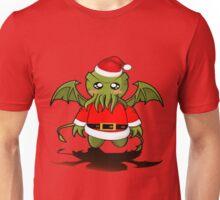 Lil' Santa Cthulhu Unisex T-Shirt
