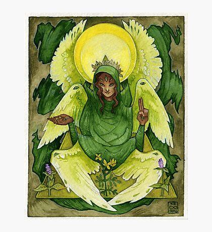 Green Angel Photographic Print