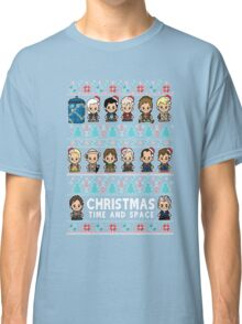 lil Doctor Who Christmas Jumper Classic T-Shirt