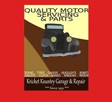 KRICKET KOUNTRY Garage & Repair....Since 1951! Unisex T-Shirt