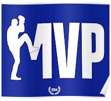 Kershaw MVP Poster