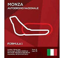 Monza racetrack Photographic Print