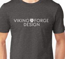 Viking Forge Design Logo - White Unisex T-Shirt