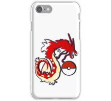 Red Gyarados iPhone Case/Skin