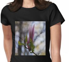 Magnolia the Queen of flowers Womens Fitted T-Shirt