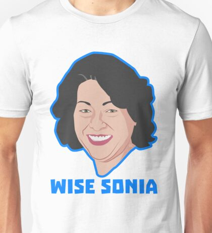 Wise Sonia Sotomayor Unisex T-Shirt