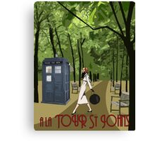 TARDIS Travel Canvas Print