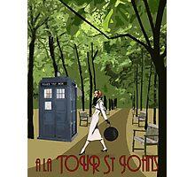 TARDIS Travel Photographic Print