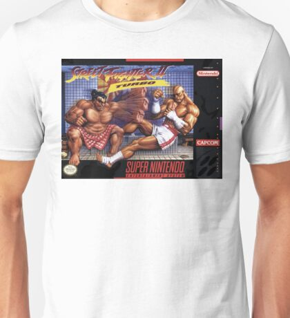 Street Fighter II Unisex T-Shirt