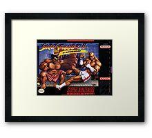 Street Fighter II Framed Print