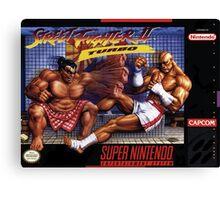 Street Fighter II Canvas Print