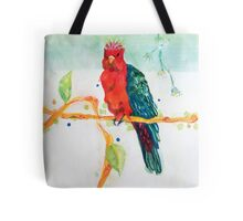 The Parrot King Tote Bag