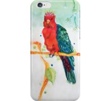 The Parrot King iPhone Case/Skin