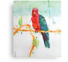 The Parrot King Metal Print