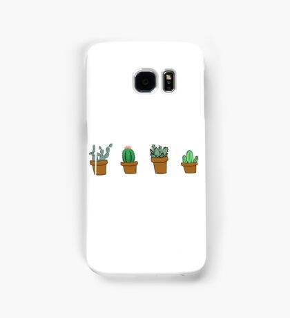 cactus hipster drawing Samsung Galaxy Case/Skin
