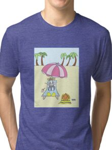 Constance & Scamp Catch Some Rays Tri-blend T-Shirt