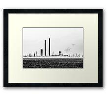 Refinery  Framed Print
