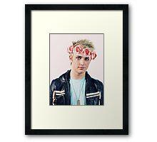 flower crown dalton Framed Print