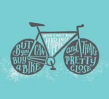 You Can't Buy Happiness (Teal) by Wes Franklin
