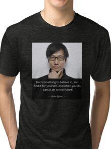 Hideo Kojima  Tri-blend T-Shirt