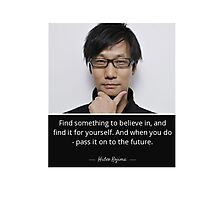 Hideo Kojima  Photographic Print