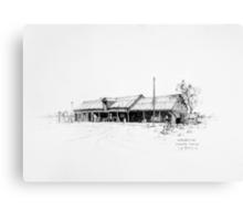 The Workshop, Bangate Canvas Print