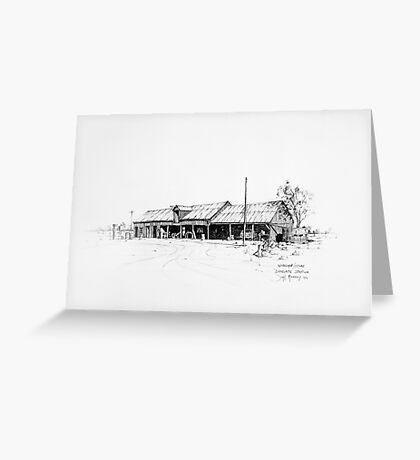 The Workshop, Bangate Greeting Card