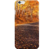 Fall Fever is in Town iPhone Case/Skin