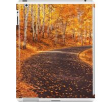 Fall Fever is in Town iPad Case/Skin