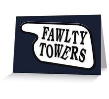Fawlty Towers Greeting Card