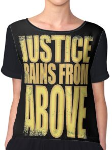 Pharah - Justice Rains from Above Chiffon Top