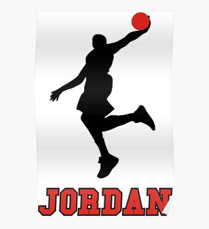 Michael Jordan BasketBall Poster