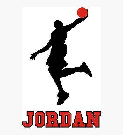 Michael Jordan BasketBall Photographic Print