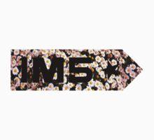 im5 flowers One Piece - Short Sleeve