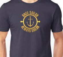 Golden Sailor Unisex T-Shirt
